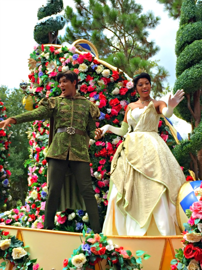 Disney's Tiana - in parade
