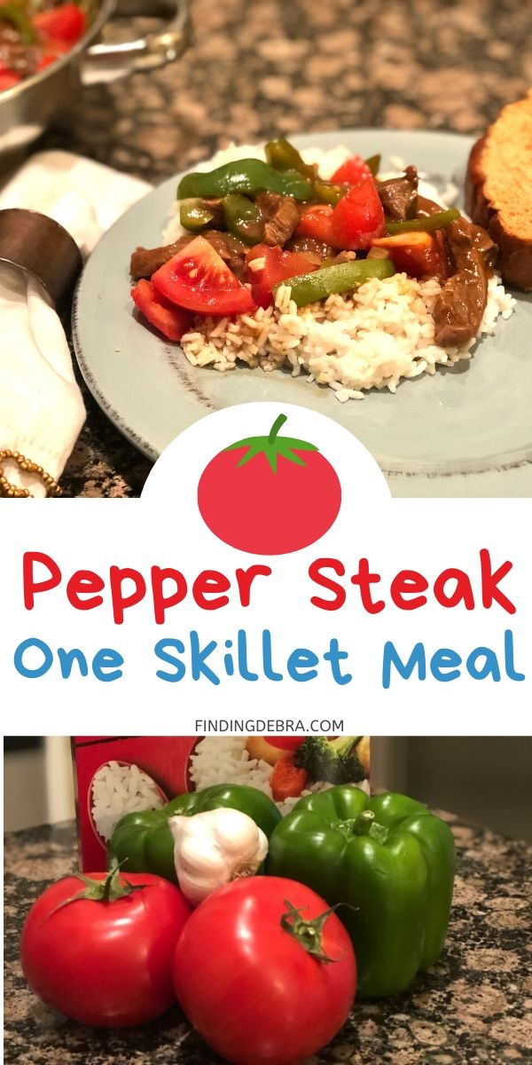 Pepper Stteak One Skillet Meal