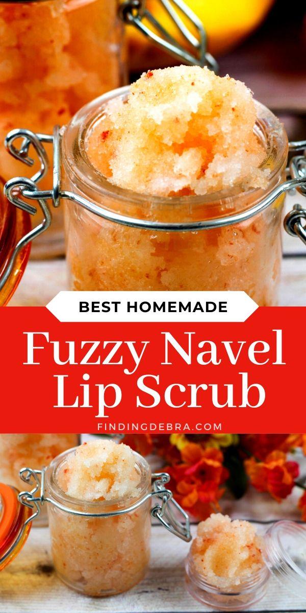 Fuzzy Navel Lip Scrub