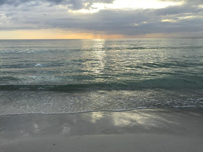 Coquina Beach Sunset