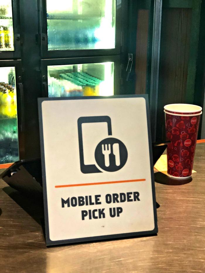 Disney World Mobile Order Pick up