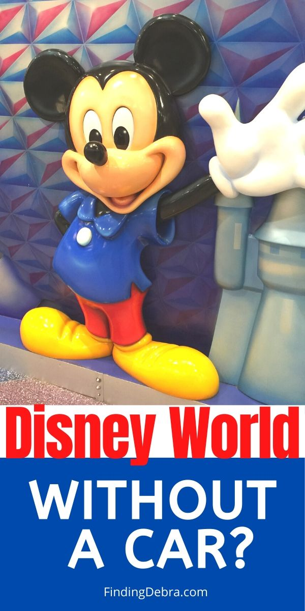 Disney World Without a Car?