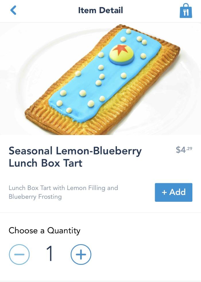 My Disney Experience app food ordering