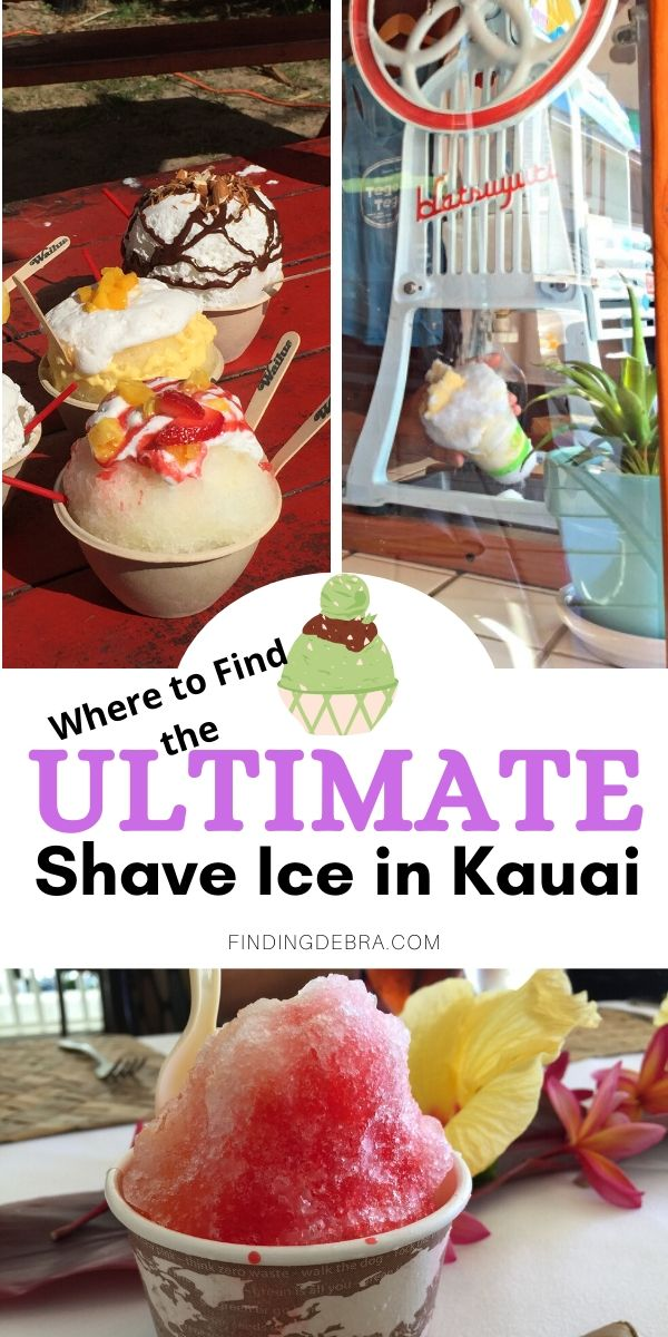 Ultimate Shave Ice in Kauai