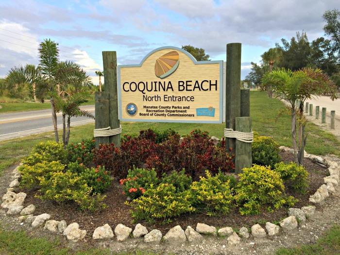 Where is Coquina Beach