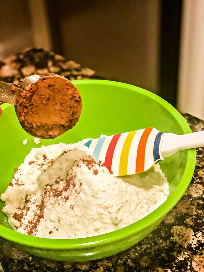 how to make a chocolate cake from white cake mix