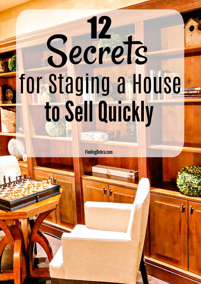 12 secrets for staging a house to sell quickly