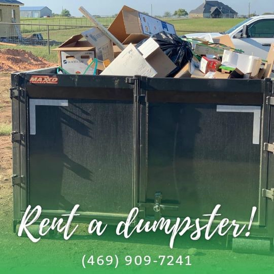 Junk Queen TX Plano dumpster rental