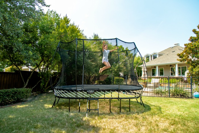 Springfree large oval trampolines