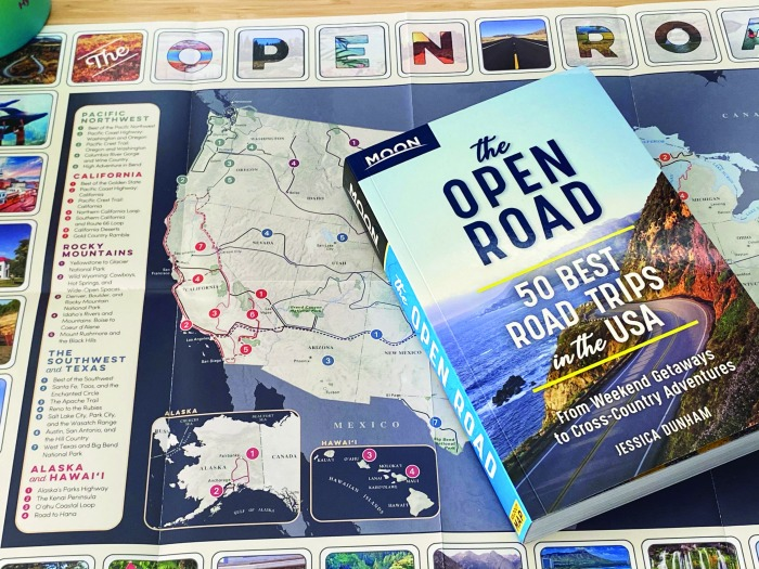 The Open Road - 50 Best Road Trips in the USA - Moon Guides
