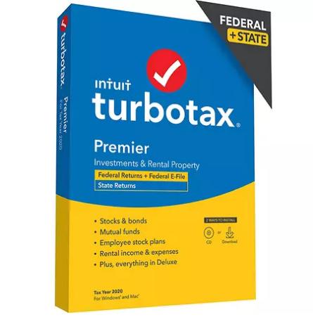 Turbo Tax 2020