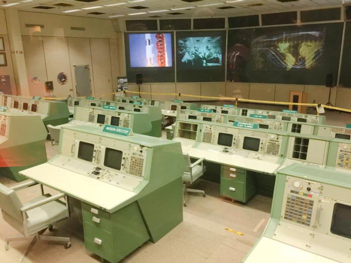 Mission Control Center Houston