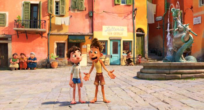 Pixar Luca Italian setting Portorosso