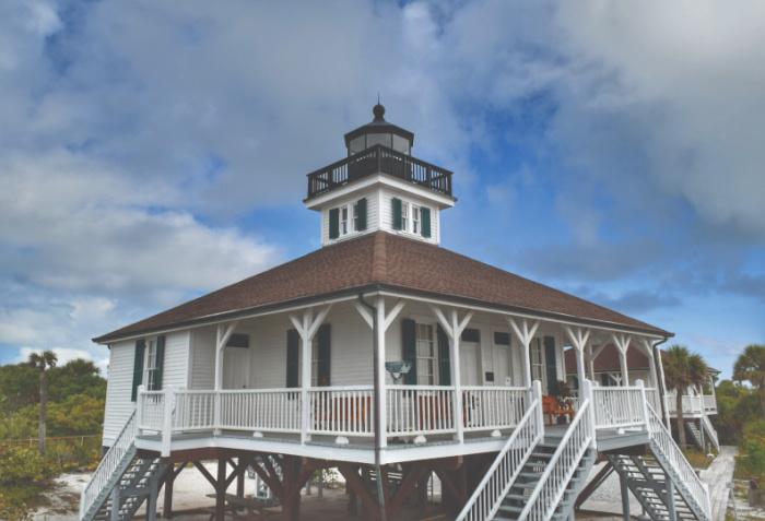 Port Boca Grande Lighthouse Florida