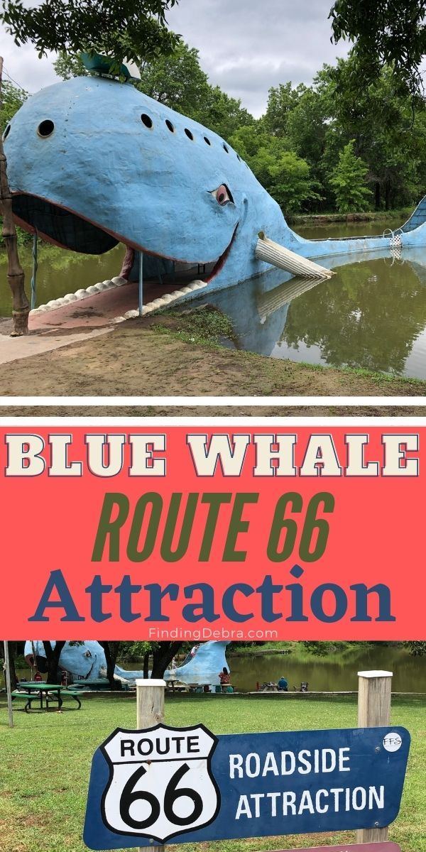 Blue Whale Route 66 attraction