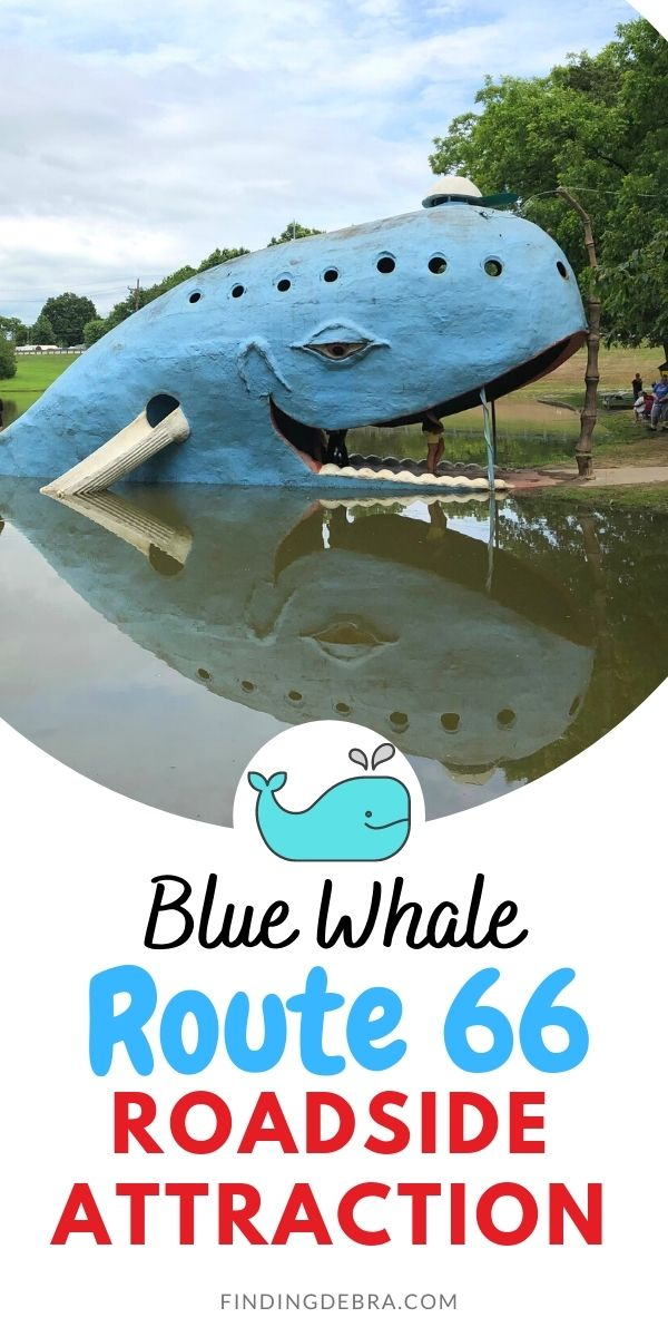 Blue Whale Route 66 Roadside Attraction Catoosa Oklahoma