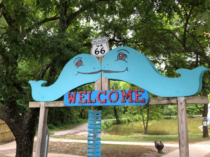 Route 66 Tulsa Attraction